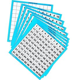 Learning Resources Laminated Hundred Boards (Set/10)