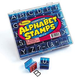 Learning Resources Uppercase Alphabet & Punctuation Stamps