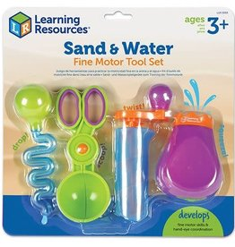 Learning Resources Sand & Water Fine Motor Tool Set