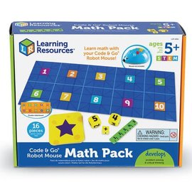 Learning Resources Code & Go Math Pack