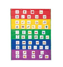 Learning Resources Rainbow Pocket Chart