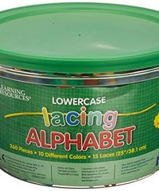 Learning Resources Lowercase Lacing Alphabet