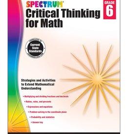 Critical Thinking for Math-Grade 6