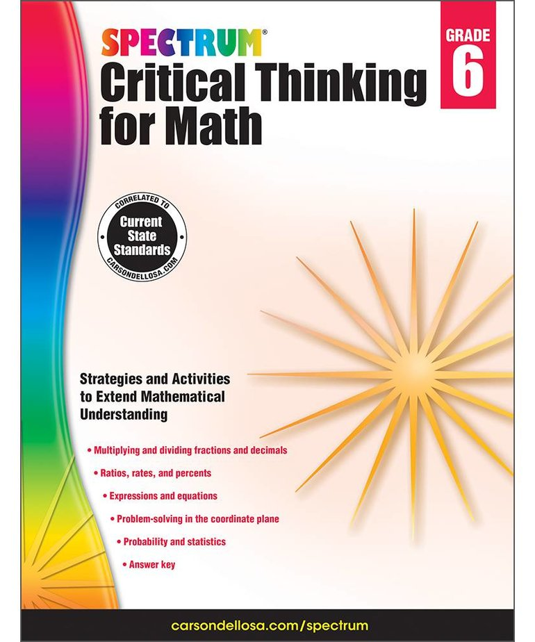 Critical Thinking for Math-Grade 6