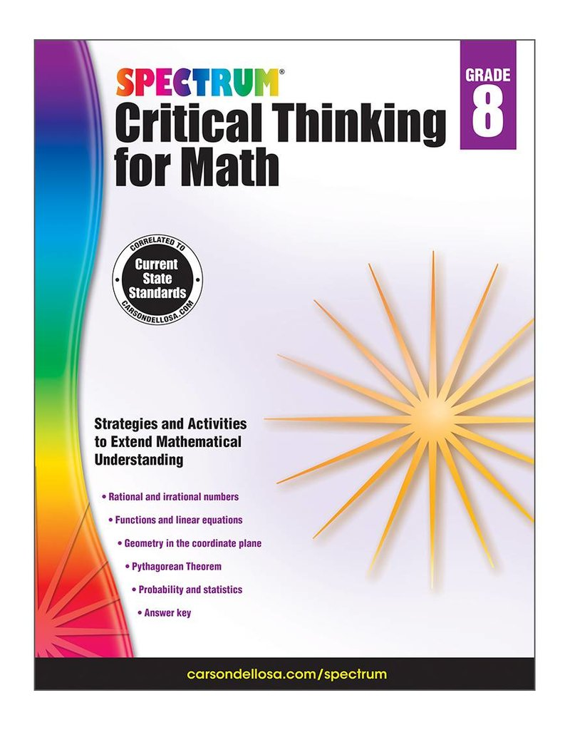 Critical Thinking for Math- Grade 8