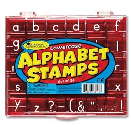 Learning Resources Lower Case Alphabet Stamps