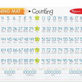 Melissa & Doug Learning Mat-Counting to 100