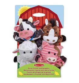 Melissa & Doug Farm Friends Hand Puppets