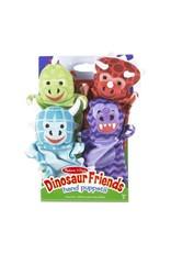 Melissa & Doug Dinosaur Friends Hand Puppets