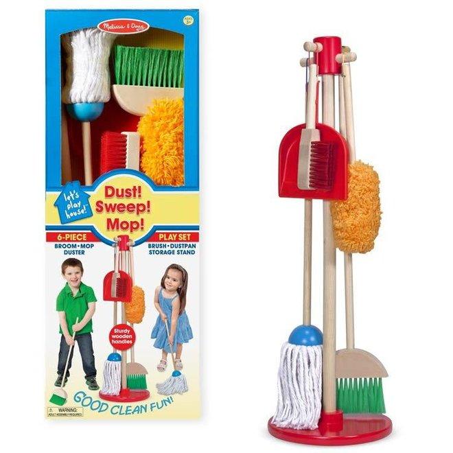 children's brush and pan set