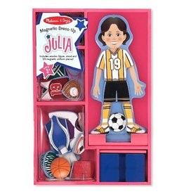 Melissa & Doug Magnetic Julia Dress Up