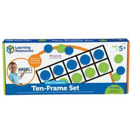 Learning Resources Giant Magnetic Ten-Frame Set