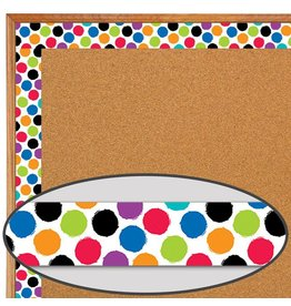 Bold & Bright Bold & Bright Colourful Spots-Border
