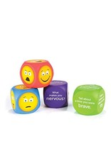 Learning Resources Emotion Cubes Set Of 4 (Questions And Emoji)