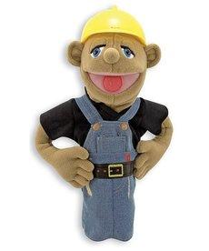 Melissa & Doug Construction Worker Puppet