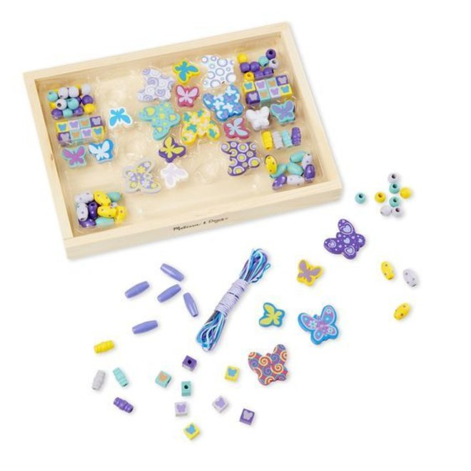 Melissa & Doug Butterfly Bead Set