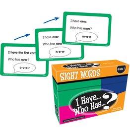 I Have...Who Has? SIght Words Grade 1
