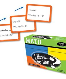 I Have Who Has...Math Game Grade 1-2