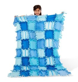 Created By Me- Striped Fleece Quilt