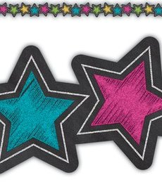 Stars Die-Cut Border Trim