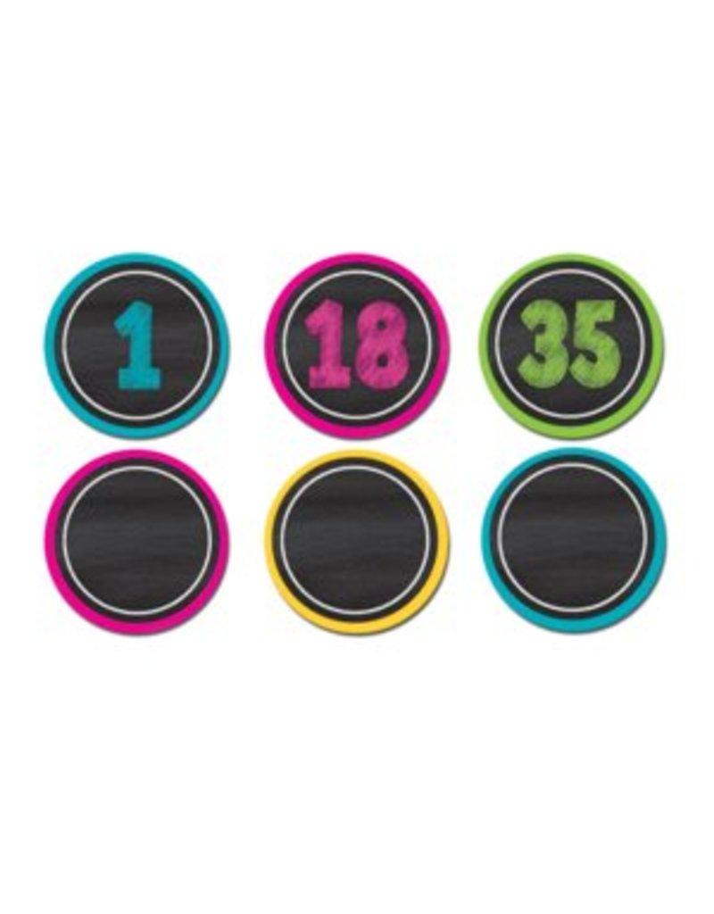 Chalkboard Brights  Magnetic Numbers