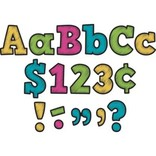 """Chalkboard Brights Bold Block 4"""" Letters Pack"""