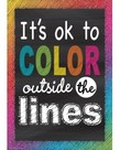 It's OK to Color Outside the Lines-Poster