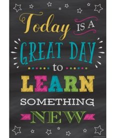Today is a Great Day to Learn...poster