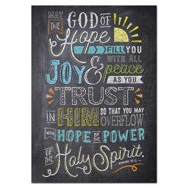 Romans 15:13 (Rejoice)-Poster