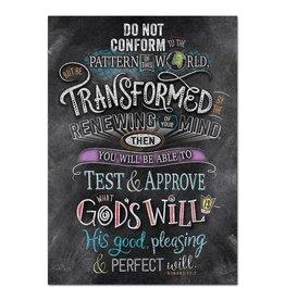 Romans 12:2 (Rejoice)-Poster
