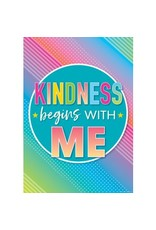 Colorful Vibe Kindness Begins with Me Poster