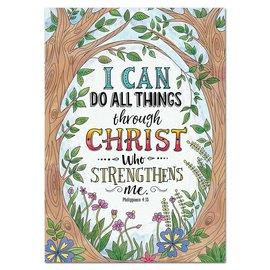 Philippians 4:13 (Rejoice)-Poster