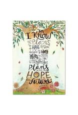 Jeremiah 29:11 (Rejoice)-Poster