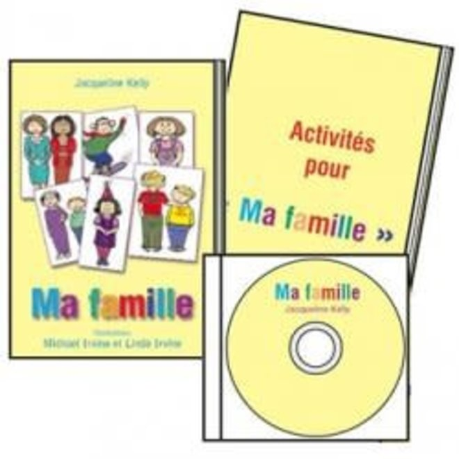 'Ma famille' French Book & CD set
