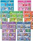 Basic French verbs (7pk) Poster Set