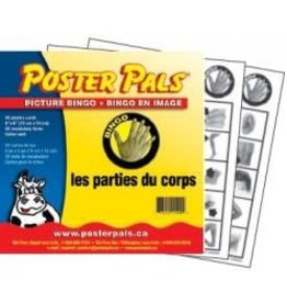 French Bingo-les parties du corps