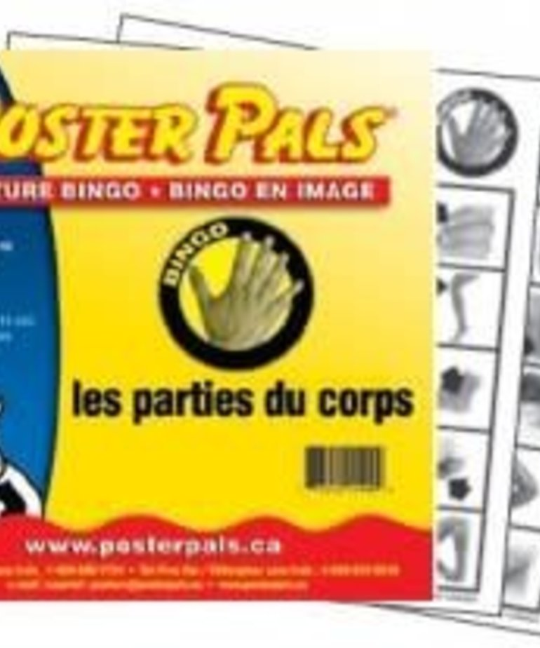 French Bingo-les parties du corps