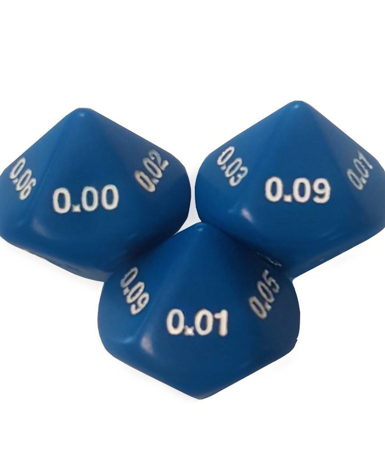 10-sided Hundreths Dice(.00-.09)