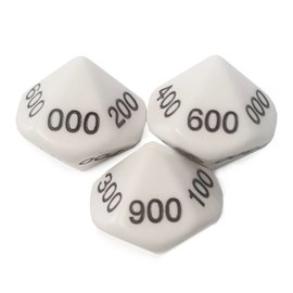 10 sided 100's Dice