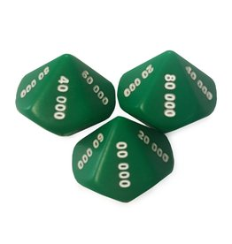 10 sided 10,000's dice