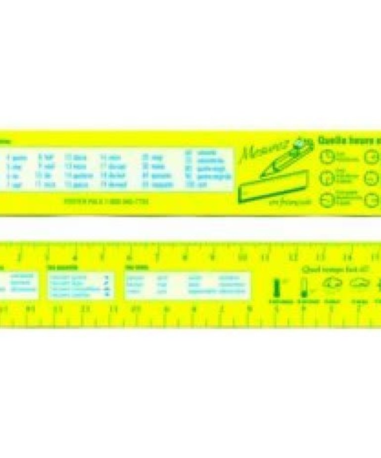 French Bookmarks-Rulers