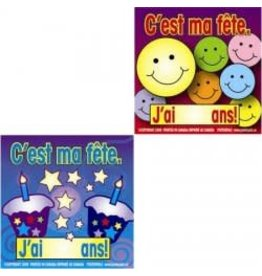 French Stickers - C'est ma fête!
