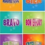 French Stickers - Motivational stickers
