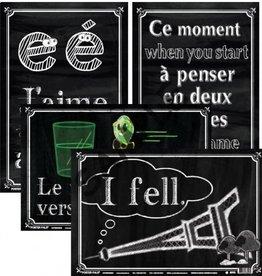 French Poster Set - Fun Photos