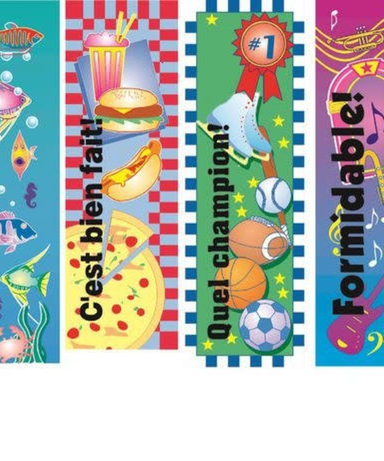 French Bookmarks - Assorted Incentive