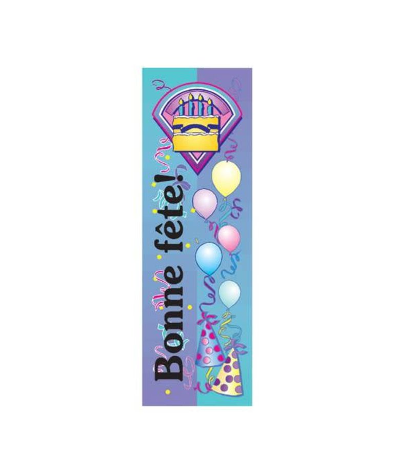 French Bookmarks - Birthday (cake & party)