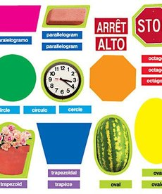 French Geometric Shapes (Mini Bulletin Board Set)