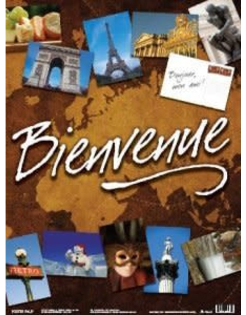 French Poster - Bienvenue