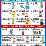 French Poster - Des sports