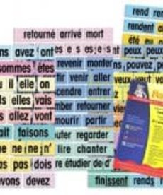 French Posters - Verb Attack cards & reproducibles